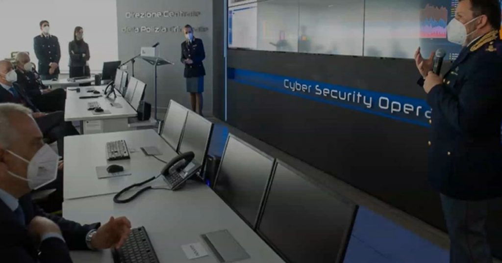 Riunione sulla sicurezza informatica con rappresentanti del governo italiano